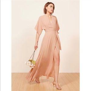 NWT Reformation Winslow Dress in Blush Pink sz M
